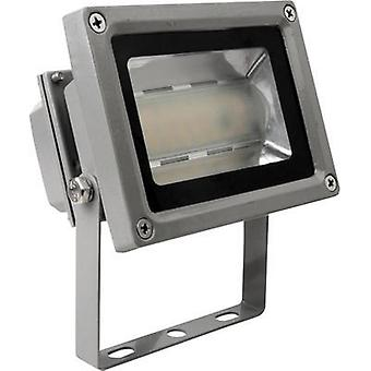 LED outdoor floodlight 12 W Cold white Megatron Tott MT69254 Silver
