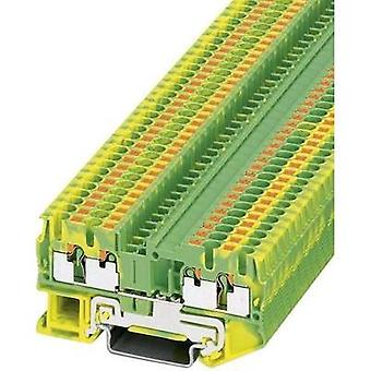 Push-In double level terminal PIT-PE PT 2,5-QUATTRO-PE Green-yellow Pho