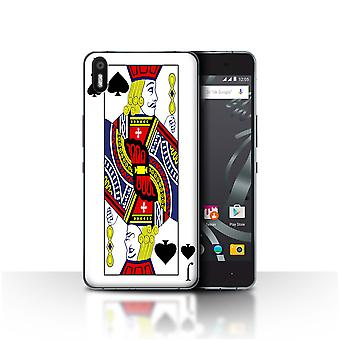 STUFF4 Case/Cover for BQ Aquaris X5/Jack of Spades/Playing Cards