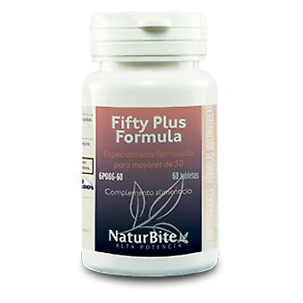 Naturbite Fifty Plus Formula 60 Comp.