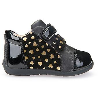Geox ragazze Kaytan B6451D caviglia stivali nero