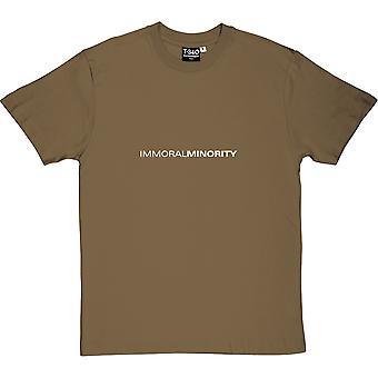 Immoral Minority Men's T-Shirt