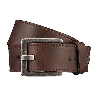 Hattric belt leather belts men's belts Brown 2934