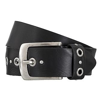 BERND GÖTZ belts men's belts leather belt walking leather black 4867