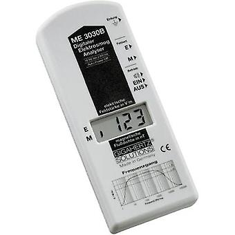 Gigahertz Solutions ME 3030B Low frequency (LF)-Analyser, Electric smog meter, 16 Hz up to 2 kHz, - 2 dB (Mains/Railways