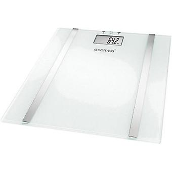 Smart bathroom scales Medisana BS-70E Weight range=150 kg White