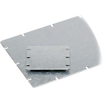 Mounting plate (L x W) 98 mm x 48 mm Steel plate Light grey Fibox MIV 100 1 pc(s)
