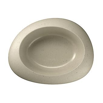 Ciottoli Bowl Beige Medium 23x21x6.5cm (9x8x2.5