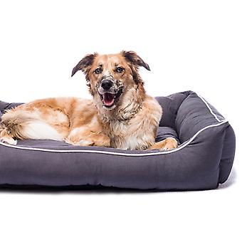 Dog Gone Smart Lounger Bed Pebble Grey  56x51cm