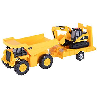 CAT Loader Trailer With 34 Cm (Toys , Vehicles And Tracks , Mini Vehicles , Cars)