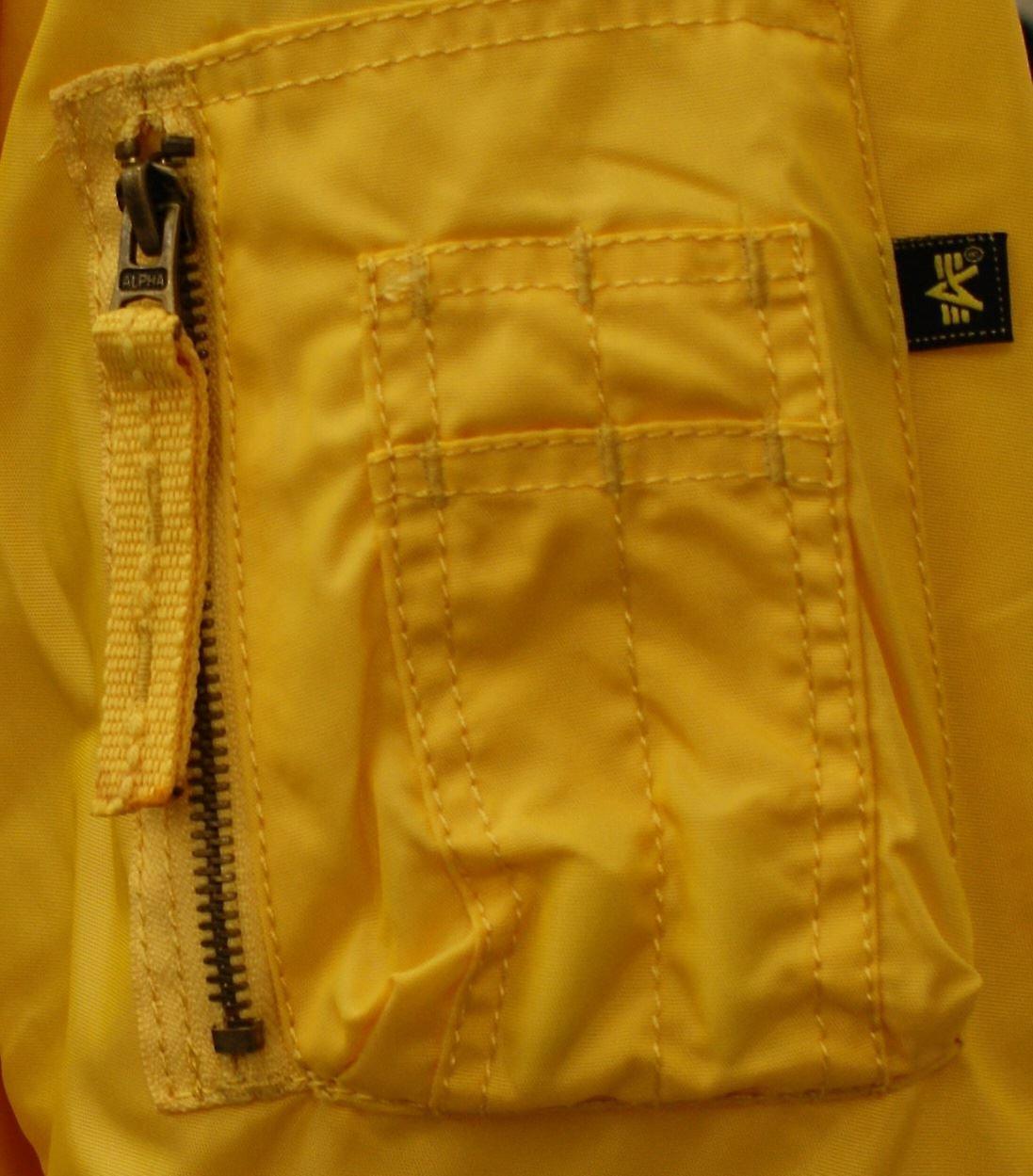 huge discount 96b59 9f17a New Genuine Original Alpha Industries Prop Jacket