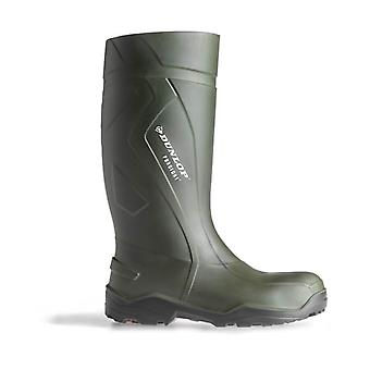 Dunlop C762933 Unisex Purofort Thermo Full Safety Wellingtons Boots PU Slip On
