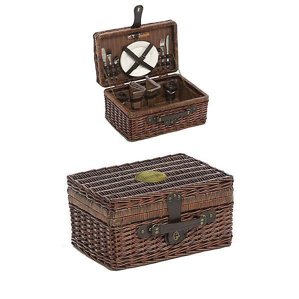 2 Person Fitted Lifestyle Rectangular Picnic Basket
