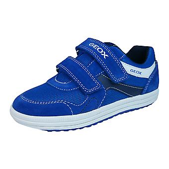 Geox J Vita A Boys Trainers / Shoes - Royal Blue