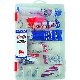 Lazer Sharp Pier/Jetty Premium Saltwater Tackle Kit