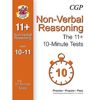 10-Minute Tests for 11+ Non-Verbal Reasoning (Ages 10-11) (Paperback) by Cgp Books Cgp Books