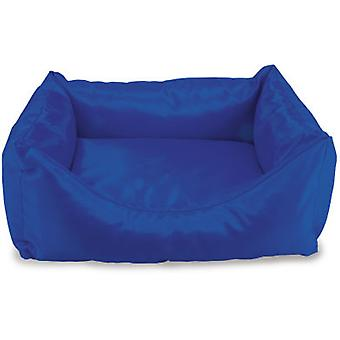 Arquivet waterproof blue square bed 50x45x17cm (Cani , Riposo , Lettini)