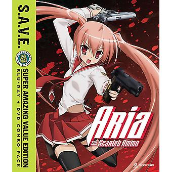 Aria the Scarlet Ammo - Season One - S.a.V.E. [Blu-ray] USA import