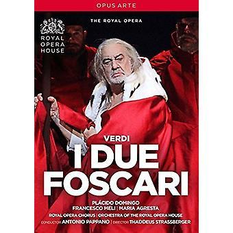 Verdi: I Due Foscari [DVD] Stati Uniti importare