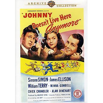 Johnny inte Live Here Anymore [DVD] USA import