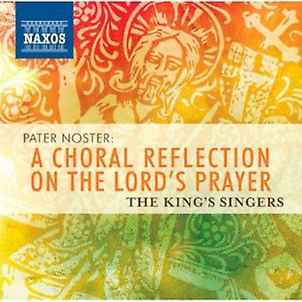 Schitz/Des Pres/Harris - Pater Noster: A Choral reflectie over de Lord's Prayer [CD] USA import