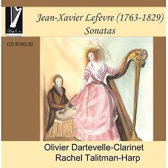 Lefevre - Xavier Lef Vre: Sonater [CD] USA import
