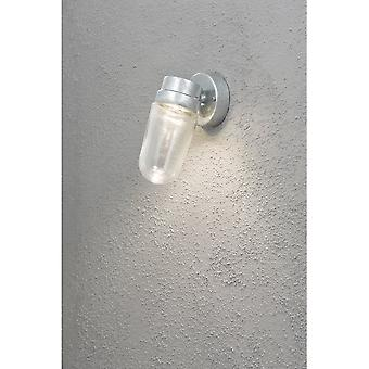 Konstsmide Vega 8W LED energiezuinige Galv Wall Light