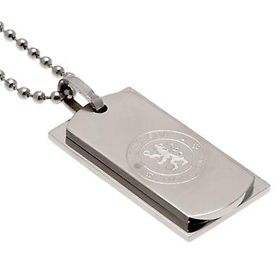 Chelsea Double Dog Tag & Chain