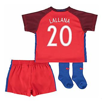 2016-17 England Away Baby Kit (Lallana 20)