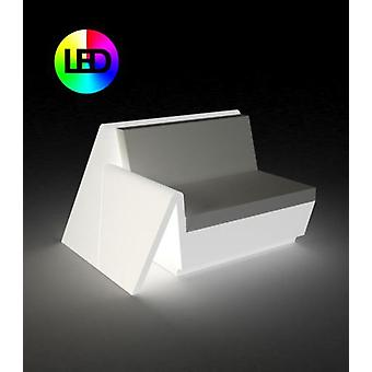 Vondom Rest steel Sofa right module Rgb Led Ice 53003L