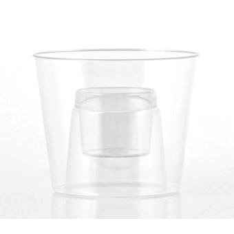 Bigbuy Shot Glasses Shot Bomb pack 4 (Kitchen , Household , Cups and glasses)