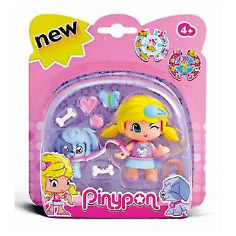 Pinypon Figura Con Mascota (Toys , Dolls And Accesories , Miniature Toys , Mini Figures)