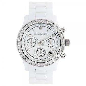 Michael Kors Watches Ladies White Ceramic Watch Mk5188