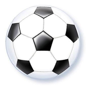 Qualatex 22 tums fotboll Bubble ballong