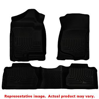 Husky Liners 98211 Black WeatherBeater Front & 2nd Seat FITS:CHEVROLET 2007 - 2