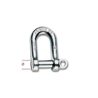 Beta 8025 11 11Mm Large Dee Shackles Hot Forged Carbon Steel Grade 4 Galvanized