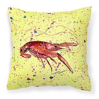 Carolines Treasures  8451PW1414 Crawfish Decorative   Canvas Fabric Pillow