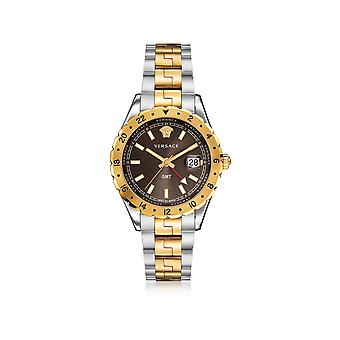 Versace men's V11040015 gold steel watch