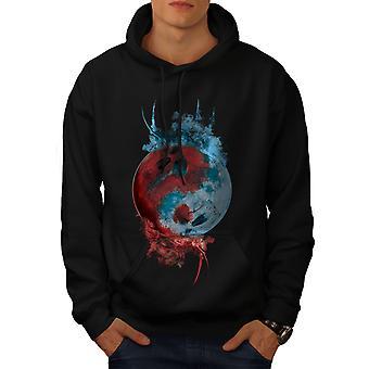 Mystic Fantasy Yang Men BlackHoodie   Wellcoda