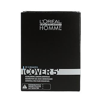 L'Oréal Professionnel Homme Cover 5' Grey Cover No 6 Dark Blonde 3 x 50ml