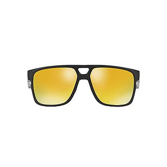 Oakley Crossrange Patch Sunglasses In Matte Black 24K Iridium
