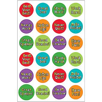 Hygloss Themed Stickers 3/Pkg-Be Your Best TSF199-1876