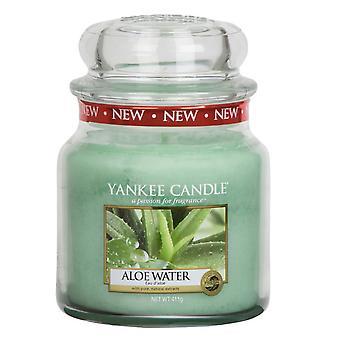 Yankee Candle Classic Medium Jar Aloe Water Candle 411g