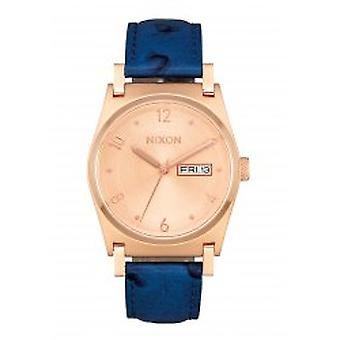 Nixon The Jane Leather Rose Gold / Blue (A9552704)