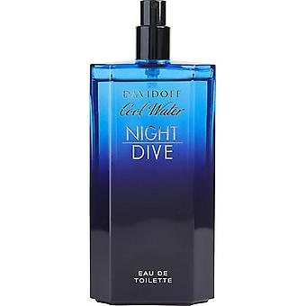 Cool Water Night Dive By Davidoff Edt Spray 4.2 Oz *Tester