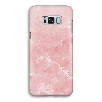 Samsung Galaxy S8 fullt ut fallet - rosa marmor