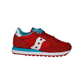 Saucony women's 1044280 red suede of sneakers