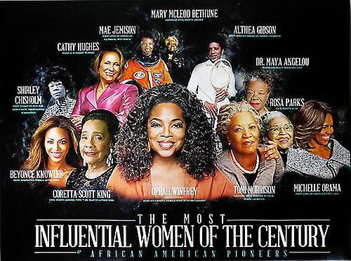 Famous Black Women Poster African American History (24x18)