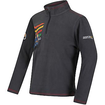 Regatta pojkar sammetslena varma mjuka Full Zip Anti piller symmetri Fleece