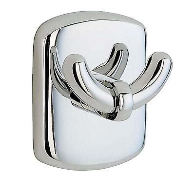Cabin Double Towel Hook - Polished Chrome CK356